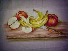 Um pedido especial, sinceramente gostei mais da pintura das bananas.