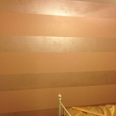 Tone on tone stripes, using metallic or high gloss & matte in same color