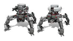Turret bots by sambrown
