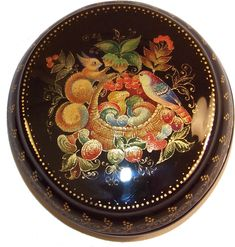 """""""Autumn Gifts"""" by Oskina Mstera; Russian lacquer boxes and gifts from KremlinGifts.Com"""