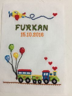 Wool Embroidery, Hand Embroidery Patterns, Cross Stitch Embroidery, Embroidery Designs, Cross Stitch Designs, Cross Stitch Patterns, Hobbies And Crafts, Sewing Crafts, Knitting