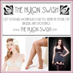 Win $40 Gift Card from The Nylon Swish ^_^ http://www.pintalabios.info/en/fashion-giveaways/view/en/2946 #International #Fashion #bbloggers #Giweaway