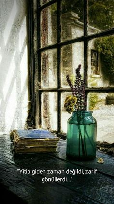 My Bohemian Aesthetic ~ window sill Old Windows, Windows And Doors, Looking Out The Window, Deco Floral, Window View, Window Ledge, Window Glass, Through The Window, Jolie Photo