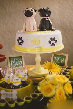 Pug Inspired Dog Party via Kara's Party Ideas KarasPartyIdeas.com #dogparty (24)