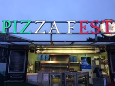 #PizzaFest (@PizzaFest_UK) | Twitter Name In Lights !