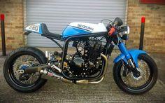 Suzuki Cafe Racer #motorcycles #caferacer #motos | caferacerpasion.com