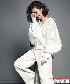 Jung Yumi Cosmopolitan Korea August 2014 Look 3