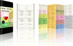 Softbound Wine Tasting Notebook Kit! Ideal home decor by the Urbanist Lab
