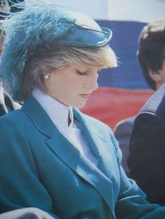 June 24, 1983: Princess Diana at the opening of the St John's Anniversary Celebrations on St John's Day at Canada Games Stadium, Newfoundland.  (Day 11)