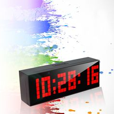 A charming led clock, more fit your life.