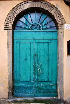 Tuscany, Italy- I have a thing for unique looking doors
