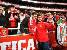 SL Benfica (@SLBenfica) | Selfie com Lisandro Lopez, Twitter