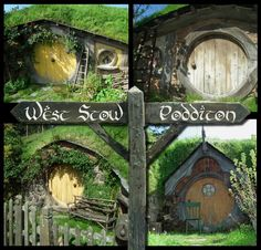 live in a real hobbit hole Poddit Hole Holidays #TheHobbit