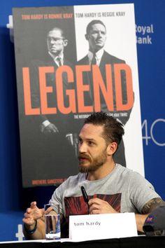 Tom Hardy - TIFF | Legend (Press conference) Toronto, Canada - September 13, 2015.