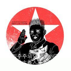 Kim Jong-un on Behance
