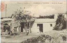 Cuevas de Burjasot (1911 a. de) - Anónimo. Fte. http://bivaldi.gva.es