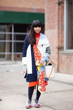 ストリートスナップニューヨーク - Susie Lauさん | Fashionsnap.com