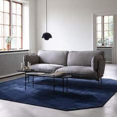 Tapis The Moor AP8 Bleu - And Tradition