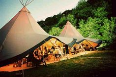As an alternative to a stately home or a marquee why not go for something a little different like a teepee and make your wedding into a small festival! Perfect Wedding, Dream Wedding, Teepee Tent, Teepee Party, Marquee Wedding, Tipi Wedding, Vintage Wedding Invitations, Wedding Designs, Big Day