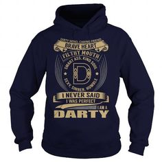 Awesome Tee DARTY Last Name, Surname Tshirt T shirts