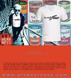 Artwearness T-shirt print design – Artfull T-shirts print design – original, sustainable & slave free