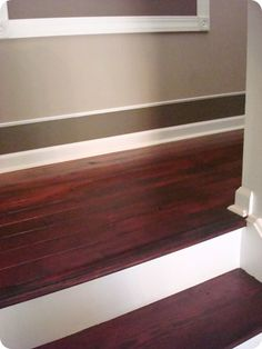 Thrifty Decor Chick: My Biggest DIY Project: The Stairs