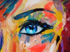 Blue Eyes, Journal, Oil, Painting, Faces, Painting Art, Journal Entries, Paintings, Painted Canvas