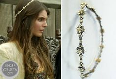 Shop Your Tv: Reign: Season 1 Episode 4 Kenna's Floral Beaded Headband Reign Hairstyles, Reign Fashion, Vintage Headbands, Let Your Hair Down, Silver Roses, Fashion Pictures, Hair Pieces, Beaded Jewelry, Hair Jewelry