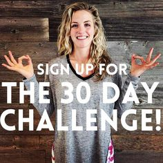 Come join us for 30 days of sweat, surrender, and bliss! #30daychallenge #yoga #myyogatown