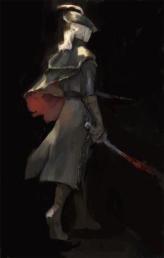 Bloodborne - Lady Maria / http://jebibot.tumblr.com/