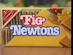 80's Ads: Nabisco Fruit Chewy Fig Newtons 1983