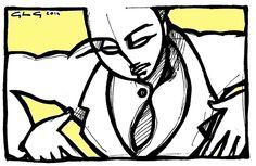 Disegno.ritratto.giallo