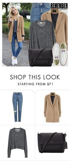 """""""2558. Blogger Style: Make Life Easier"""" by chocolatepumma ❤ liked on Polyvore featuring Oris, Topshop, Dorothy Perkins, Étoile Isabel Marant, DKNY and Converse"""