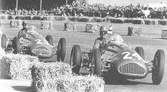 Silverstone 1950, Geoff Crossley and Joe Kelly, Alta Gp