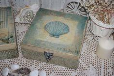 Купить или заказать Шкатулочки в морском стиле в интернет-магазине на Ярмарке Мастеров. Шкатулочке в морском стиле,выполненные в технике декупаж. Работа выполнена в единственном экземпляре. Гибк…