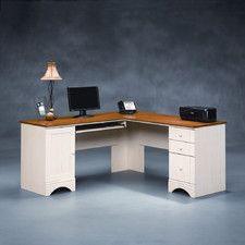 Harbor View Corner Computer Desk