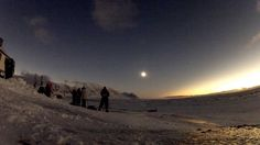 Shadow Bands In Total Solar Eclipse - Svalbard 2015