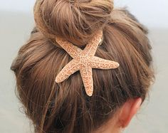 starfish hair clip – Etsy UK