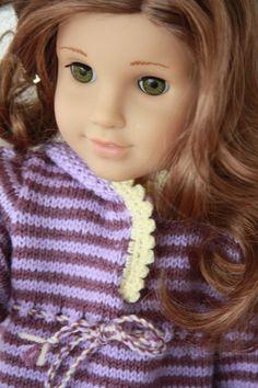 Modell 0042 MONA KRISTIN - pattern for American Girl doll.