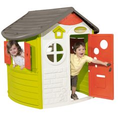 Buy Smoby Jura Lodge Playhouse at Argos. Thousands of products for same day delivery or fast store collection. Toys R Us, Buy Toys, Portable Steam Sauna, 21st Birthday Decorations, Plastic Windows, Auction Baskets, Window Shutters, Garden Toys, Kids Store