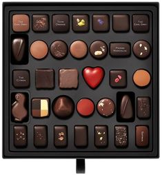 Normally one of the chocolatiers I love is Pierre Marcolini. Before I had ever met him, his chocolates changed my life. I remember the exact moment. Chocolate Bonbon, Chocolate World, Luxury Chocolate, Chocolate Dreams, Death By Chocolate, Chocolate Brands, Artisan Chocolate, Chocolate Sweets, I Love Chocolate