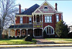 Brick Victorian House: Dalton, Georgia   Flickr - Photo Sharing!