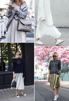 Trending | Pleated Skirts via French By Design