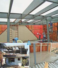 Casa pronta em quatro meses com steel frame - Casa