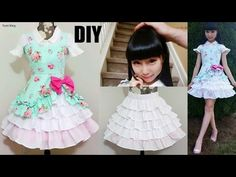 DIY Easy Victorian Inspired Classic Dress + Underneath Ruffle Skirt | Lolita Inspired Fashion DIY - YouTube