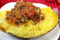 Paleo Recipe for Spaghetti Squash