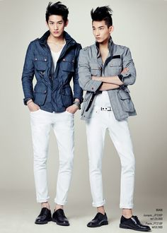 Kim Taehwan & Park Hyeongseop - TBJ 2014 SEASON COLLECTION