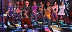 Die Sims 4 - Zeit für Freunde: Das Leben mit den anderen  - Die Sims tanzen in der Erweiterung unter anderem vor dem DJ-Pult im Club. Gemeinsames Tanzen und Tanzwettbewerbe gehören zu den neuen Aktionsmöglichkeiten der Spielfiguren. - © Electronic Arts