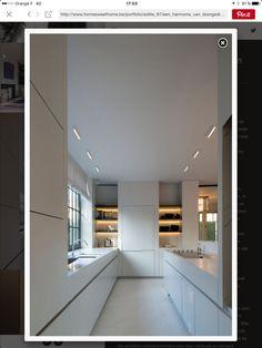 éclairage cuisine des étagères