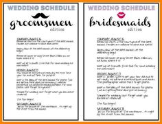 Pin By ONeil Events On Free Wedding Planning Advice Pinterest - Day of wedding timeline template free